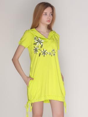 Платье фисташкового цвета | 4137563