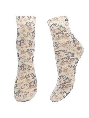 Шкарпетки бежеві 30 Den | 4144457