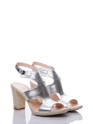 Босоніжки сріблясті | 4141425