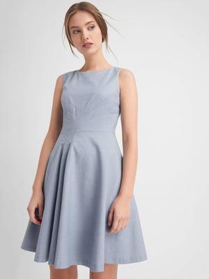 Платье голубое | 4145816