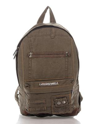 Рюкзак кольору хакі | 4067848