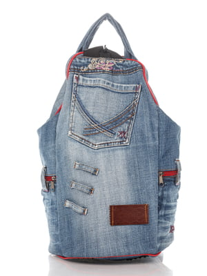 Рюкзак цвета темного джинса | 4067845