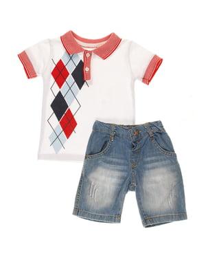 Комплект: футболка и шорты | 4016753