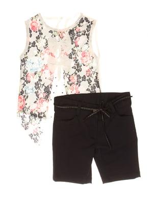 Комплект: блуза и шорты | 4016755