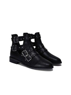 Ботинки черные | 4003937