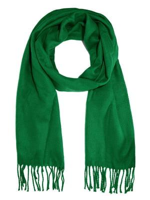 Шарф зеленый | 4030646