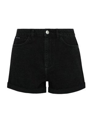 Шорты черные джинсовые | 4117329
