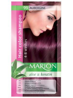 Відтіночний шампунь Marion Color №99 — баклажан (40 мл)   3809510
