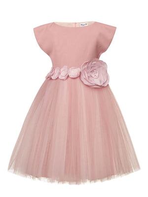 Платье цвета пудры | 4141577
