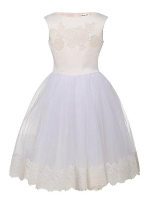 Сукня молочного кольору   4141590