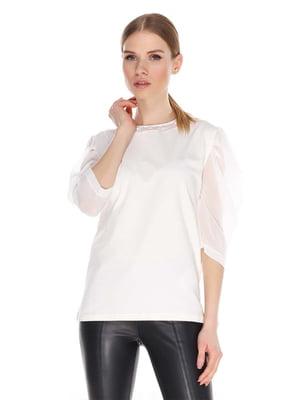 Блуза белая | 4129227