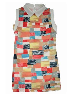 Сукня в абстрактний принт | 4152904
