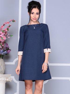 Платье темно-синее | 4152469