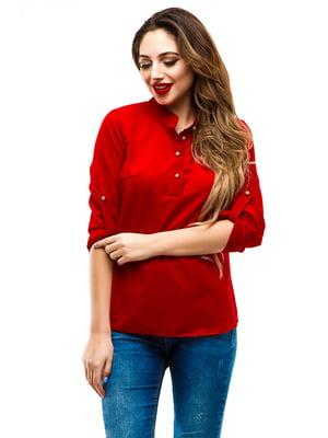 Блуза красная | 4155040