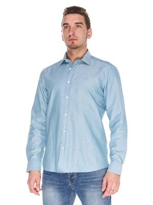 Рубашка голубая   4129253