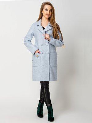 Пальто блакитне | 4155152