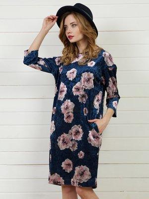 Платье в цветочный принт | 4141275