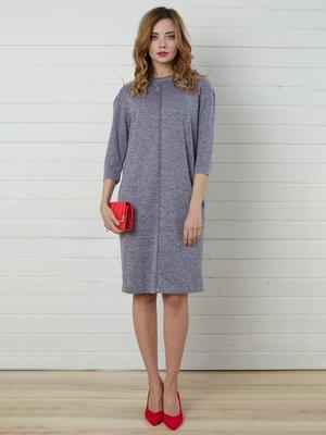 Платье серо-бежевое | 4157278