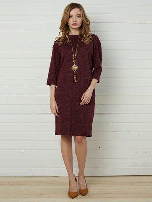 Платье бордовое | 4157293