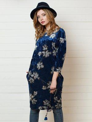 Платье в цветочный принт | 4157279
