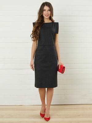 Платье темно-серое | 4157283