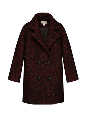 Пальто чорно-червоне | 4159138