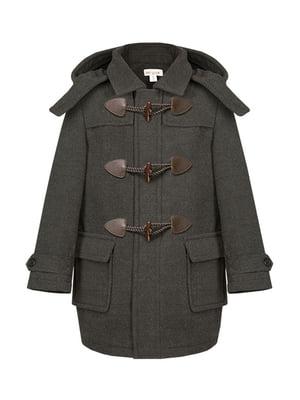 Пальто сіре | 4159139