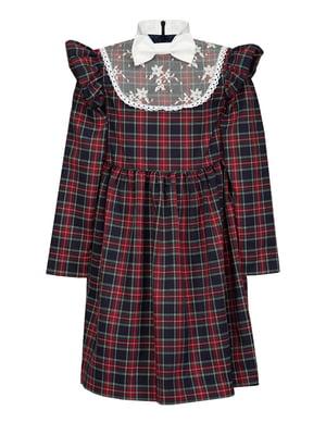 Платье клетчатое   4159142