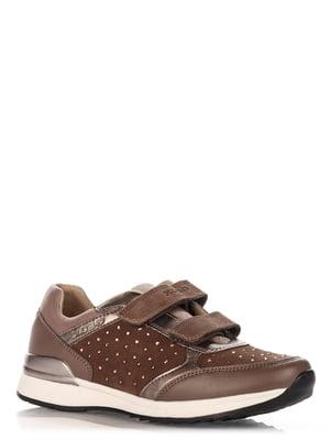 Кроссовки коричневые | 4123596