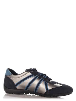 Кроссовки синие | 4123490