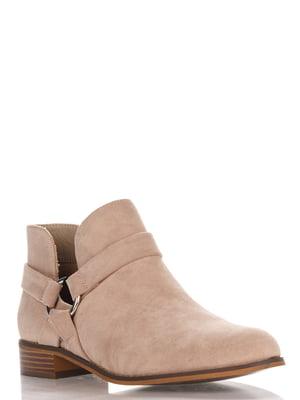 Ботинки бежевые | 4123509