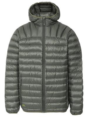 Куртка оливкового кольору | 3905831