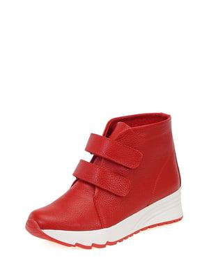 Ботинки красные | 4161446