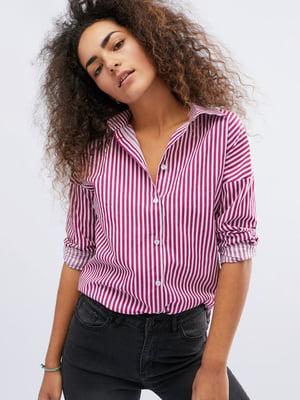 Сорочка в смужку - CARICA - 4162767