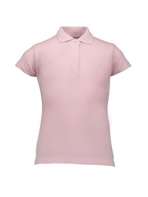 Футболка-поло светло-розовая | 4060477