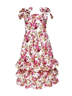 Платье в цветочный принт   4165484
