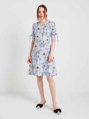 Сукня в квітковий принт | 4168110
