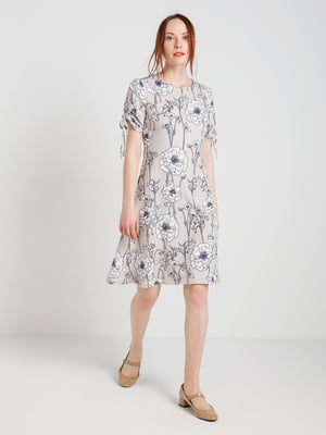 Платье в цветочный принт | 4168111