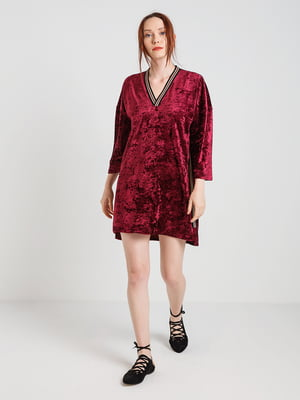 Платье бордовое | 4168122