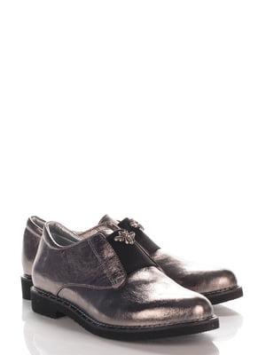 Туфли цвета никеля | 4124442