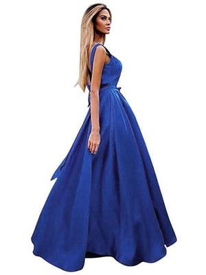 Платье синее | 4166890