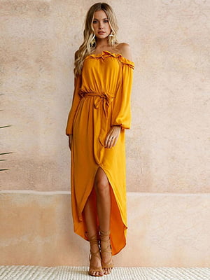 Сукня кольору охри   4166892