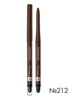 Карандаш для глаз Exaggerate Waterproof Eye Definer - №212 — Rich Brown (0,28 г) | 2178955