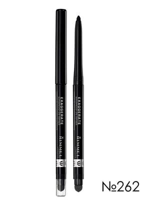 Олівець для очей Exaggerate Waterproof Eye Definer - №262 — Blackest Black (0,28 г)   2178960