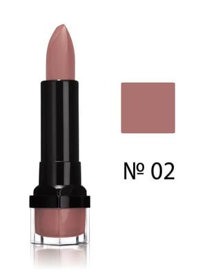 Помада губная увлажняющая Rouge Edition - №02 - бежевый (3,5 г) | 707956