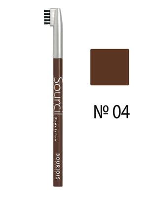 Карандаш для бровей Eyebrow Pencil №04 - светло-коричневый (1,13 г) | 708054