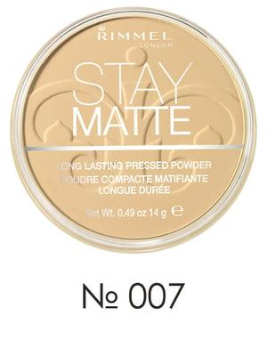 Пудра компактная Stay Matte - №07 - Mohair (14 г) | 2120011