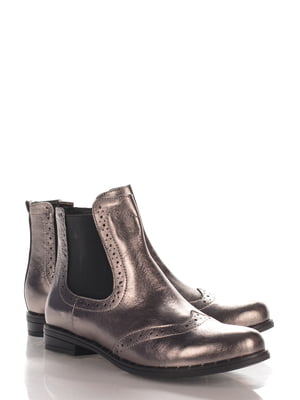 Ботинки цвета никеля | 4124416
