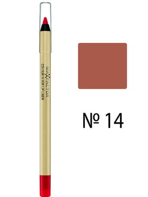 Карандаш для губ Col Elixir Lip Liner - №14 - Brown Nude (1,2 г) | 3925831