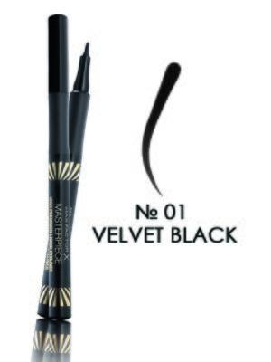 Подводка для глаз Masterpiece - №01 — Velvet Black (1,7 мл)   3925841